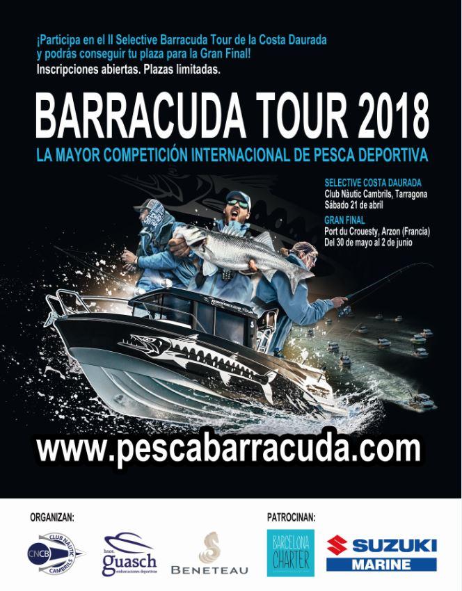 selective-costa-daurada-barracuda-tour-2018-cambrils